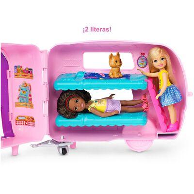 Barbie Club Muñeca Cámper De Chelsea
