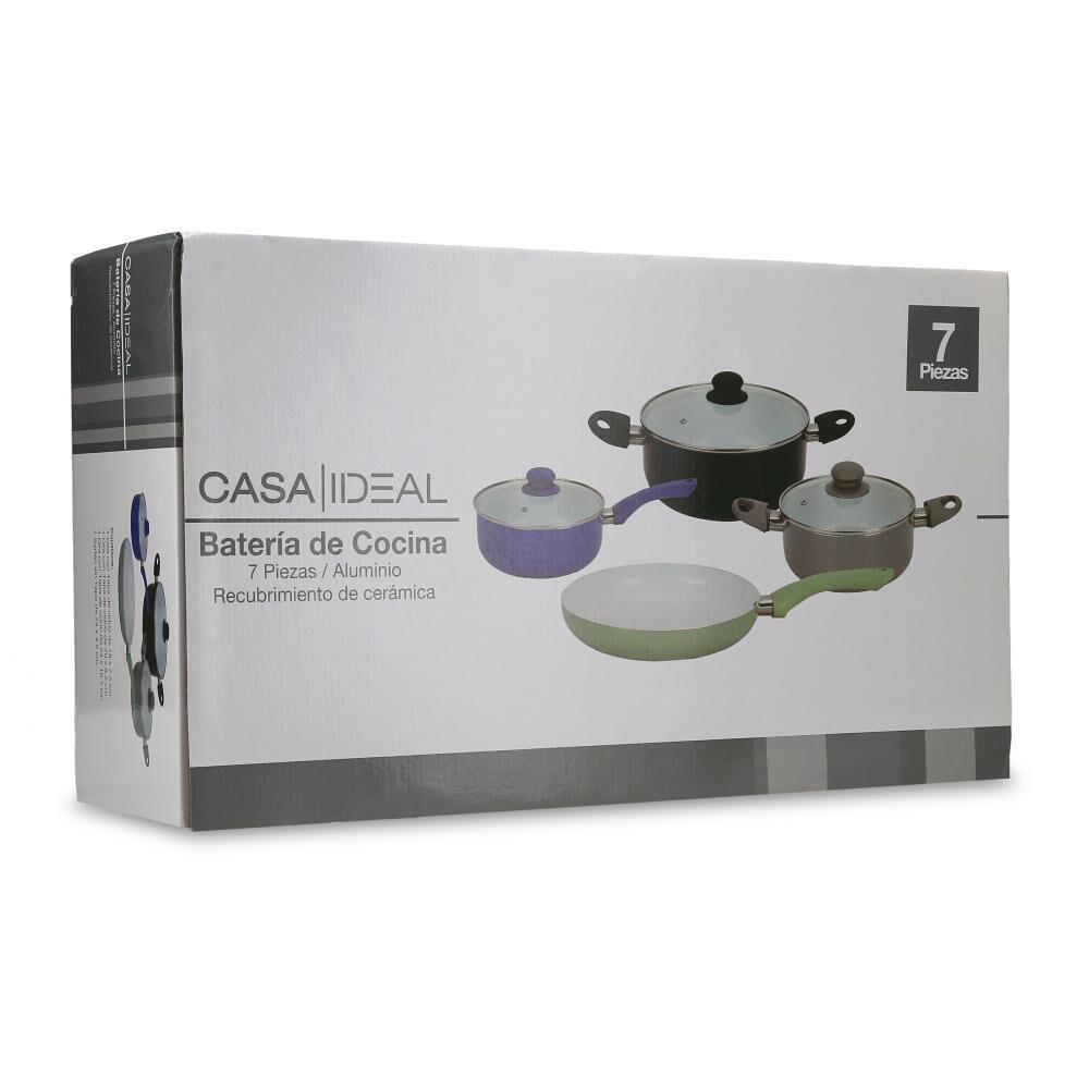 Batería De Cocina Casaideal / 7 Piezas image number 4.0