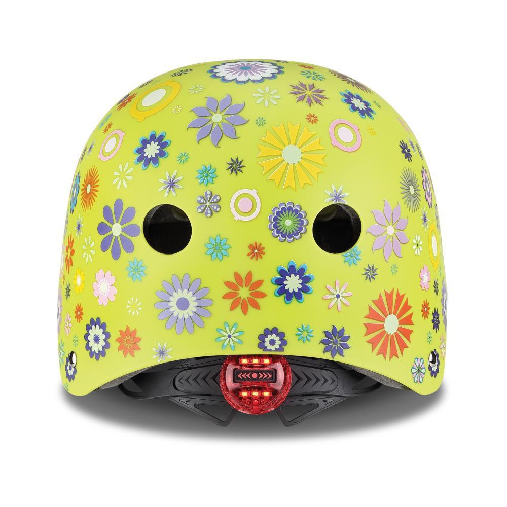 Casco Globber Helmet Elite Lights Lime Xs/S image number 2.0