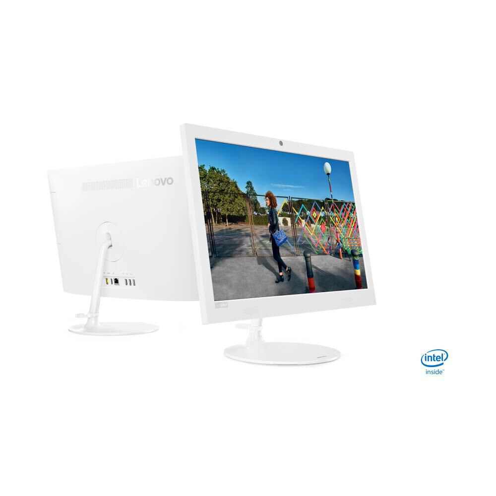 """All In One Lenovo Ideacentre Aio 330 / Intel Celeron / 4 Gb Ram / Intel Uhd Graphics 600 / 500 Gb Hdd / 19.5"""" image number 4.0"""