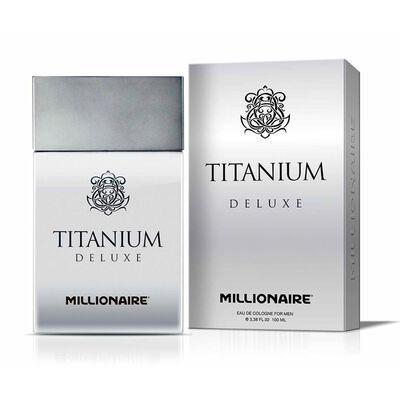 Perfume Hombre Titanium Deluxe Millionaire / 100 Ml / Eau De Parfum