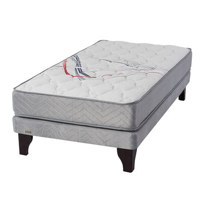 Cama Europea Flex Therapedic Más / 1.5 Plazas / Base Normal