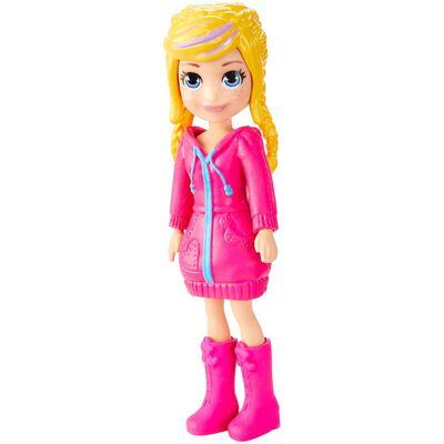 Mini Muñeca Polly Pocket Súper Colección De Moda