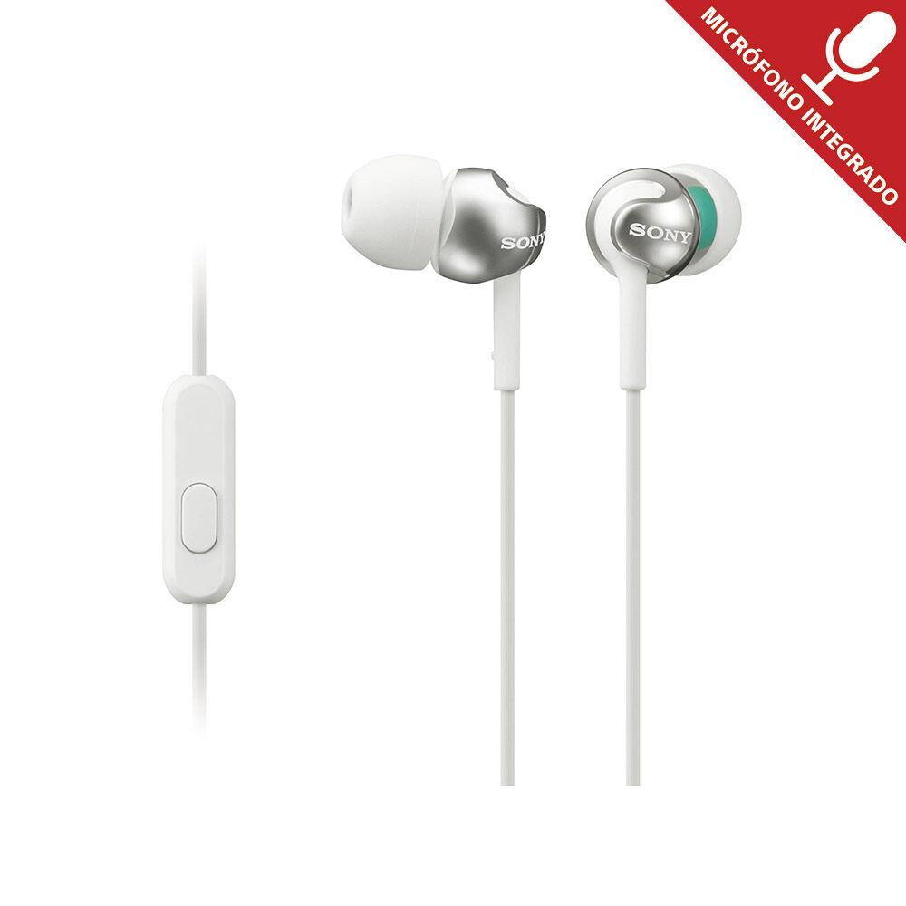 Audífonos Sony Mdr-Ex110Ap Blanco image number 0.0