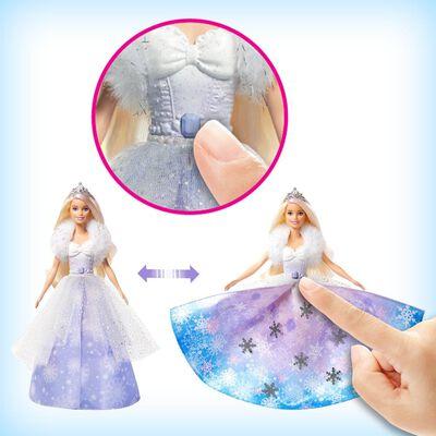 Muñeca Barbie Princesa Vestido Mágico