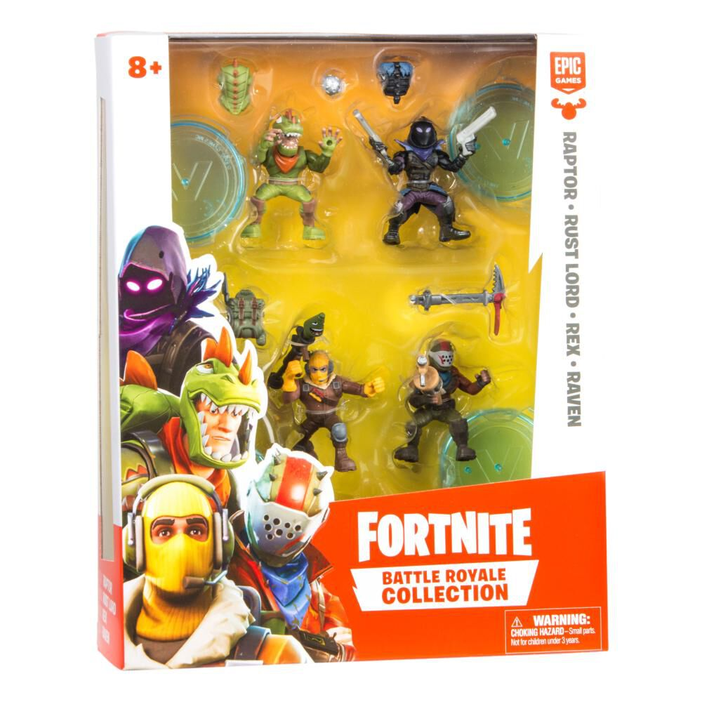 Figuras De Accion Fortnite 63508 Mini Figura Pack 4 image number 1.0