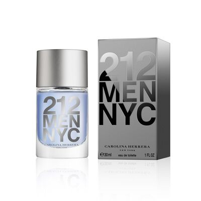 Perfume Carolina Herrera 212 Men Nyc Edición Limitada / 30 Ml / Edt /