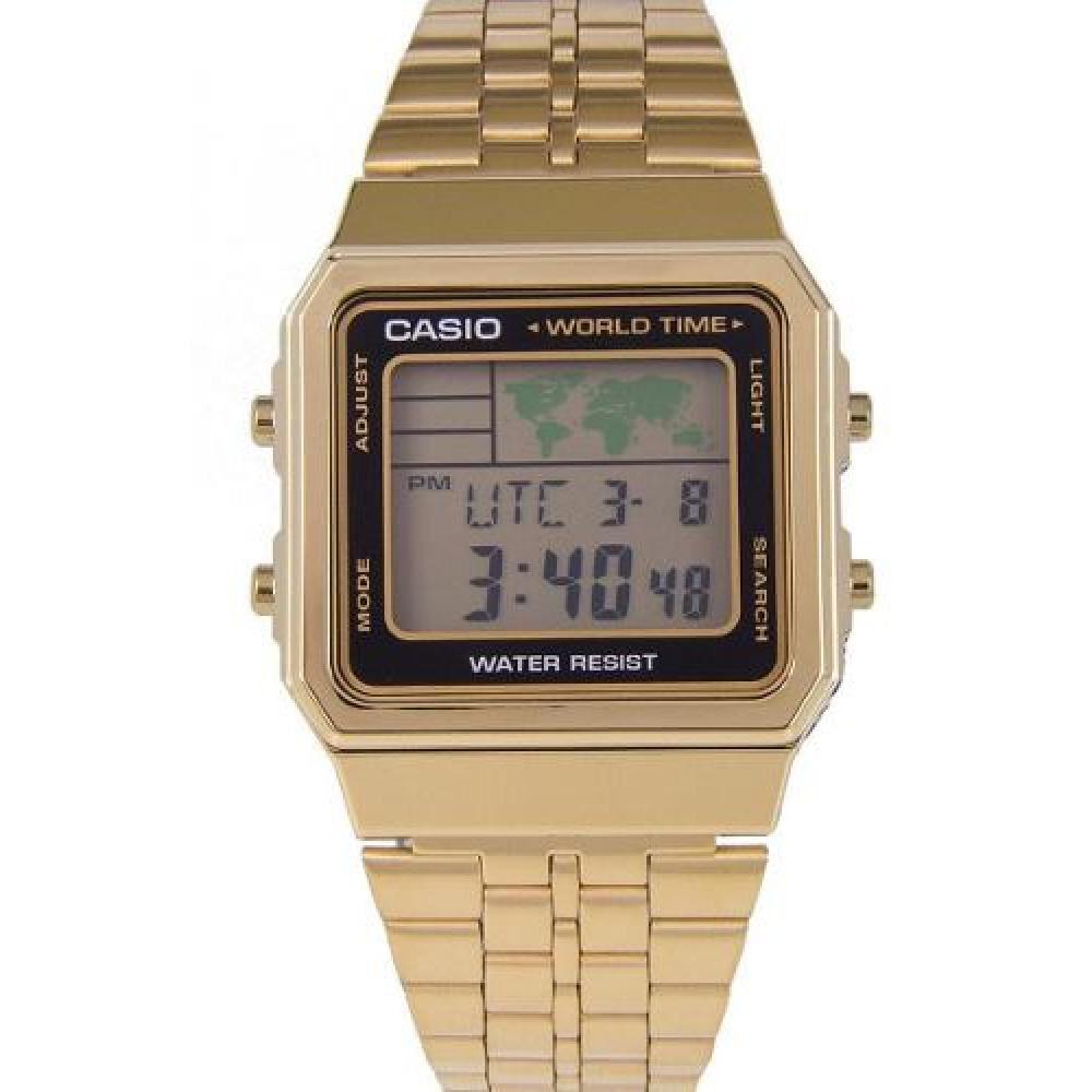 Reloj Casual Mujer Casio A500wga-1df image number 0.0