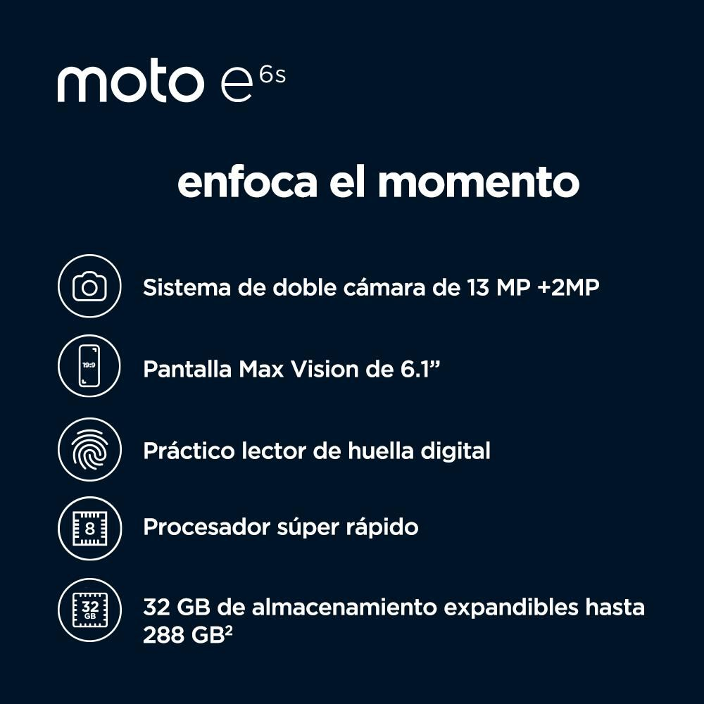 Smartphone Motorola Moto E6s 32 Gb / Claro image number 6.0