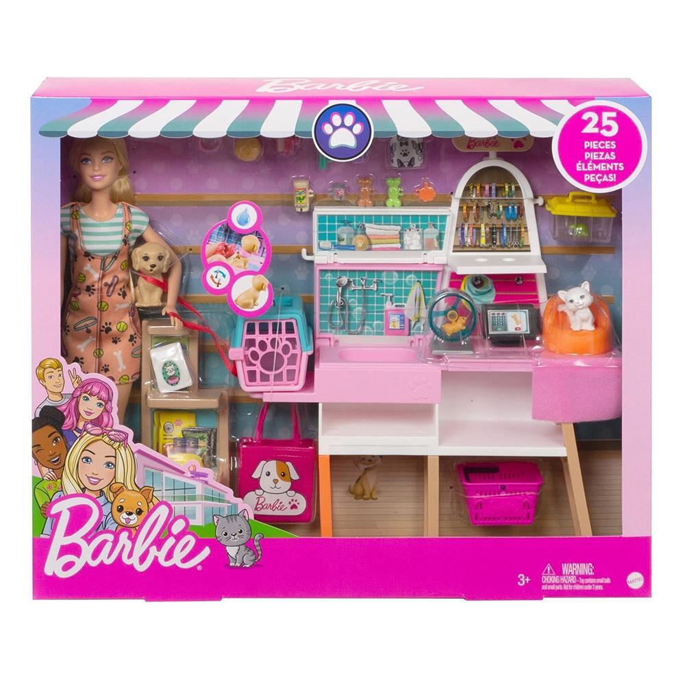 Muñeca Barbie Tienda De Mascotas image number 6.0