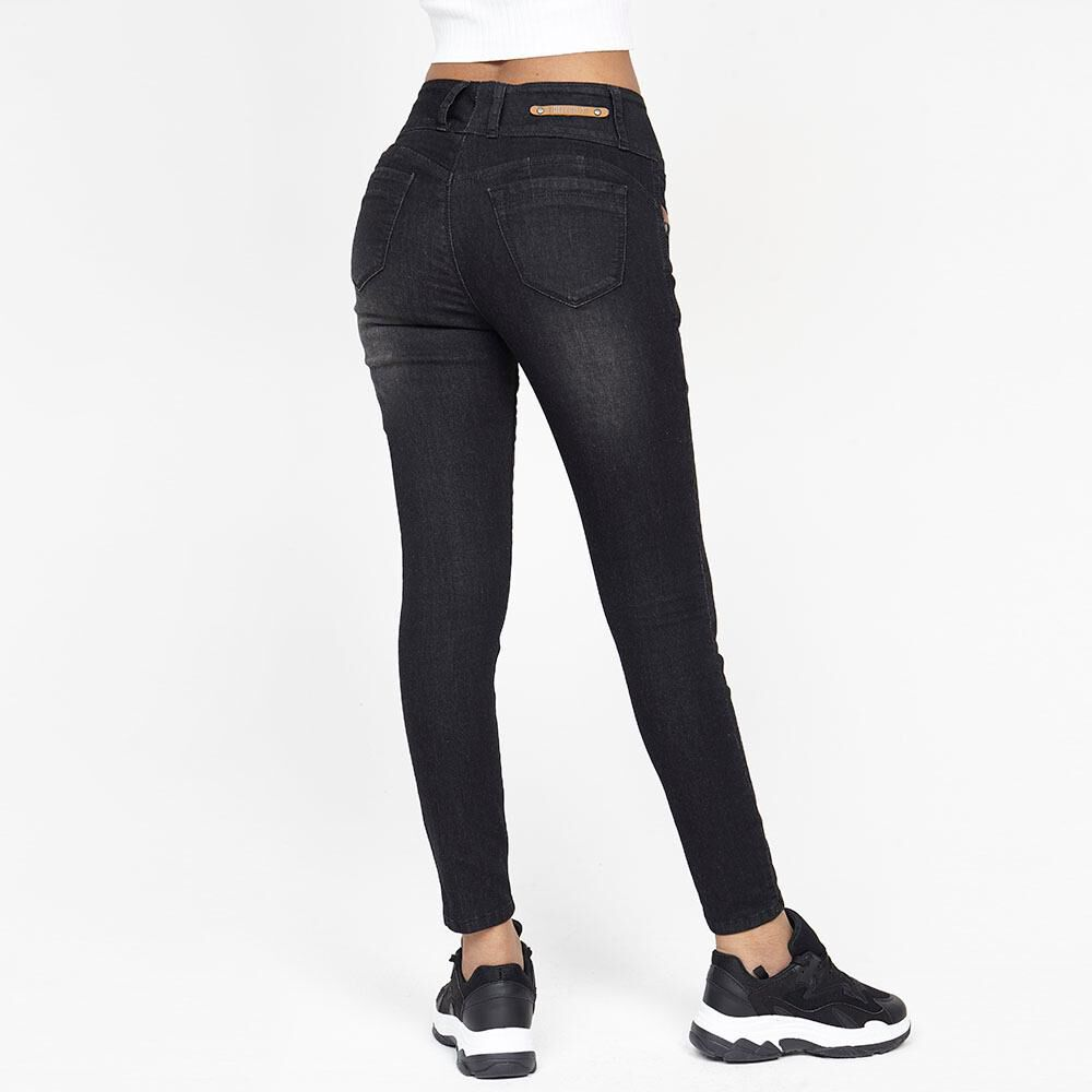 Jeans Mujer Tiro Alto Relaxed Rolly go image number 2.0