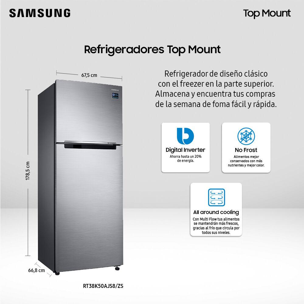 Refrigerador Samsung No Frost, Convencional Rt38k50ajs8 385 Litros, 301 A 400 Litros image number 2.0