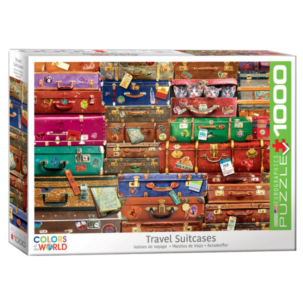 Puzzle Eurographics 6000-5468 Travel Suitcases image number 0.0
