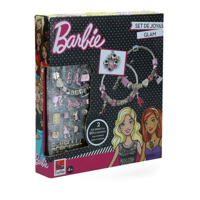 Juego Didactico Barbie Rose Gold Jewellery