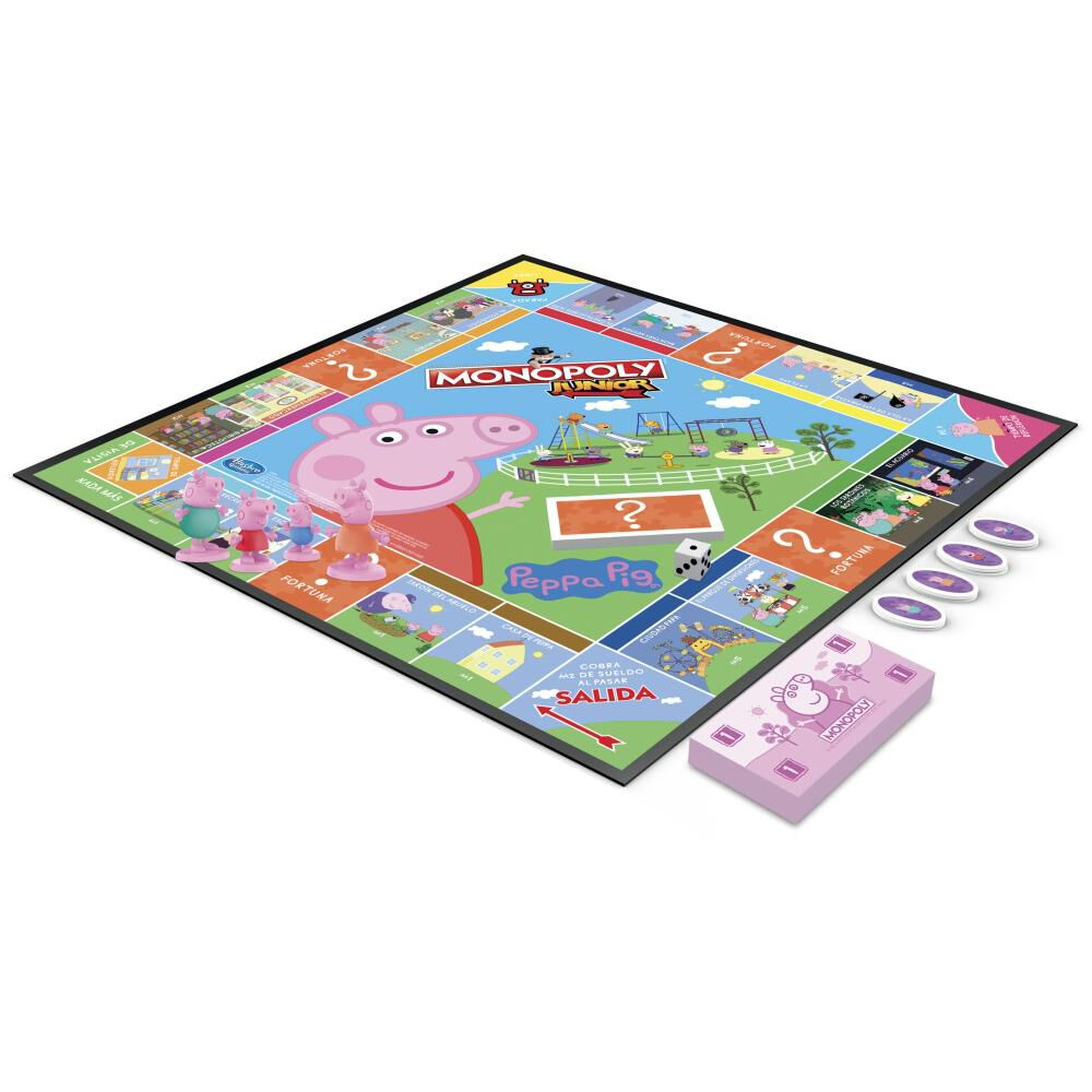 Juegos Infantiles Monopoly Junior Peppa Pig image number 2.0