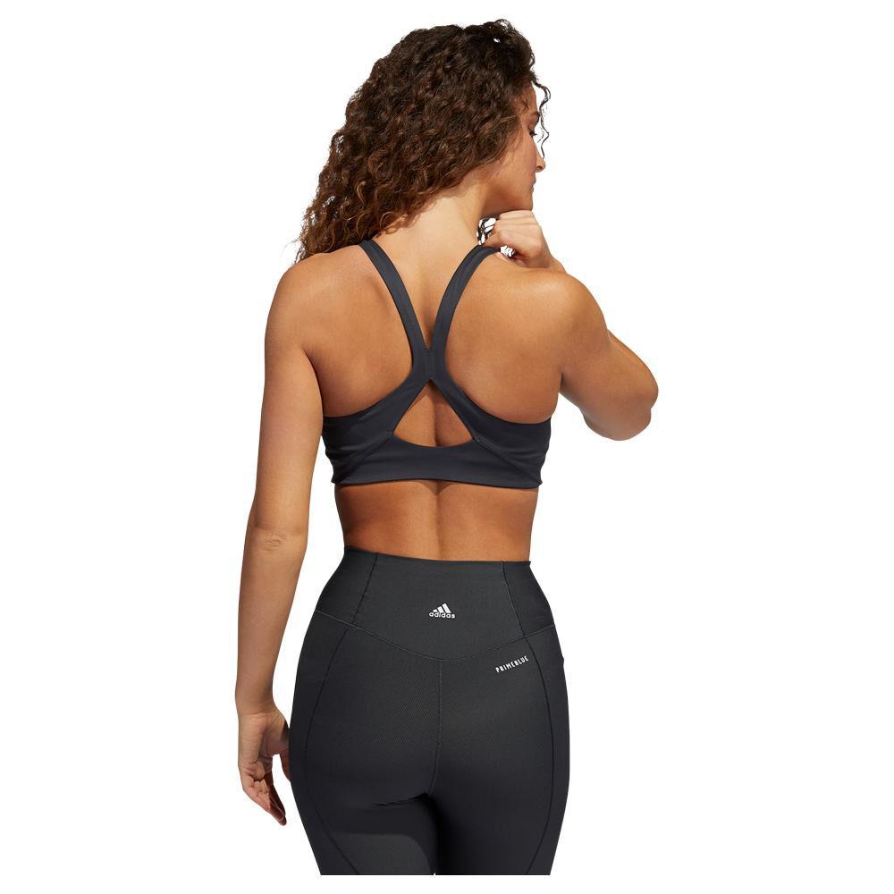 Peto Deportivo Mujer Adidas Medium Suport Yoga Bra image number 2.0