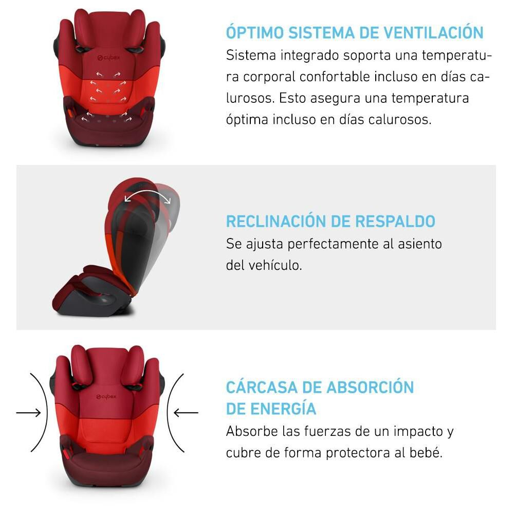 Silla De Auto Cybex Solution M-Fix Sl image number 2.0