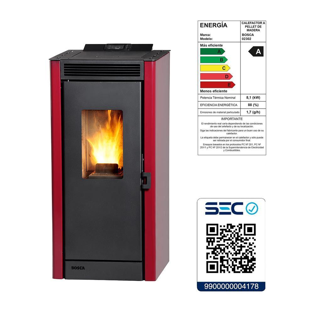 Calefactor A Pellet Bosca Eco Smart image number 2.0