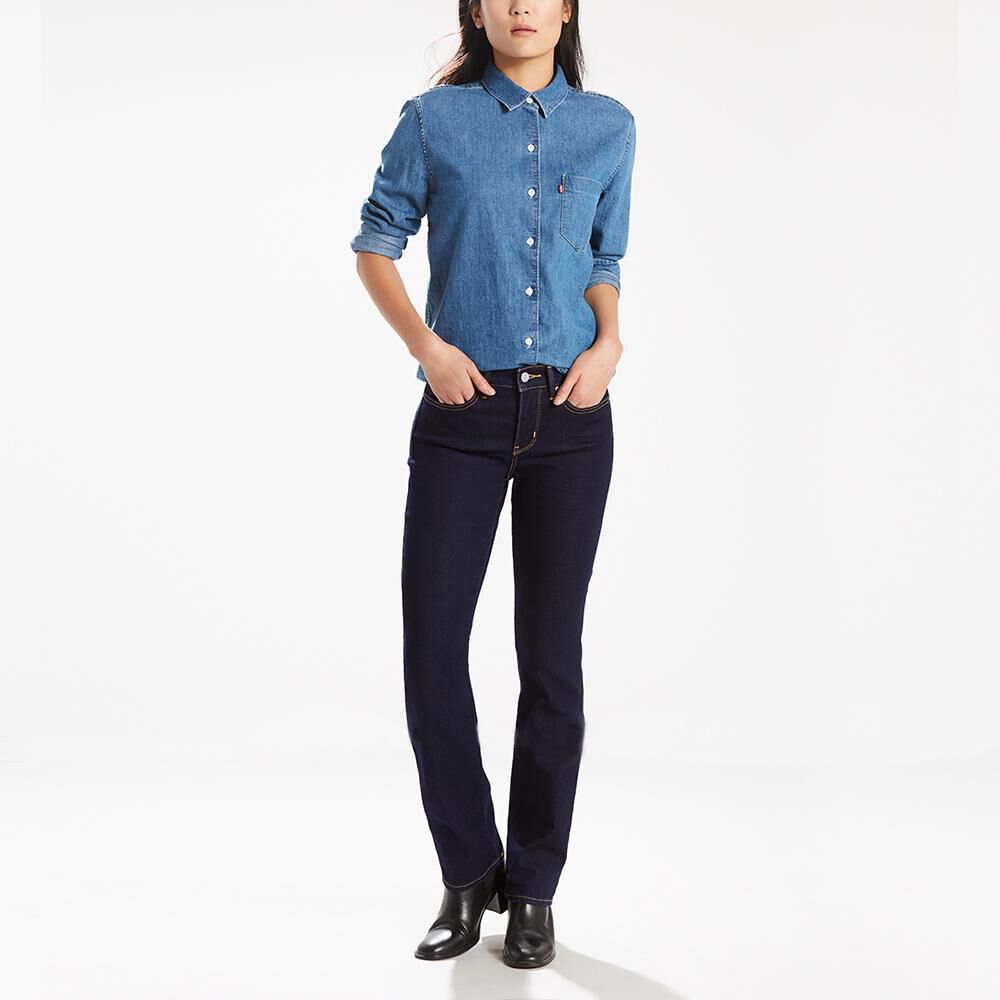 Jeans Mujer Straight Fit Levi's 314 image number 0.0