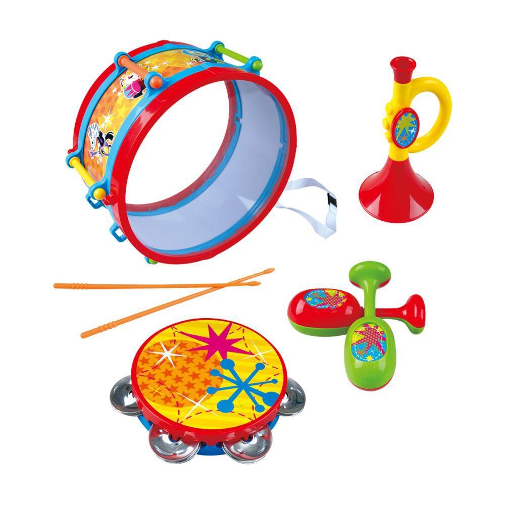 Juguete Musical Hitoys Tambor Fiesta Infantil - Metal image number 1.0