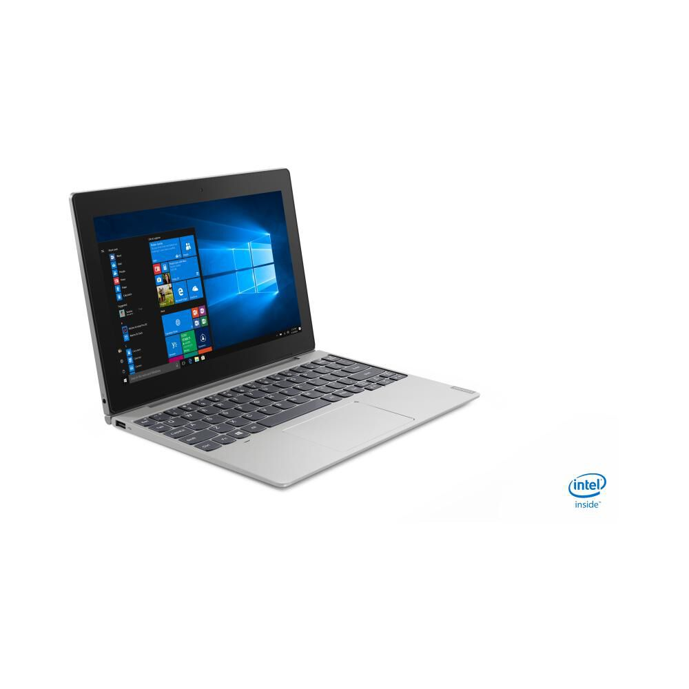 "Notebook Lenovo Ideapad D330 / Mineral Grey / Intel Celeron / 4 Gb Ram / Integrated Intel Uhd Graphics 600 / 64 Gb Ssd / 10.1"" image number 2.0"