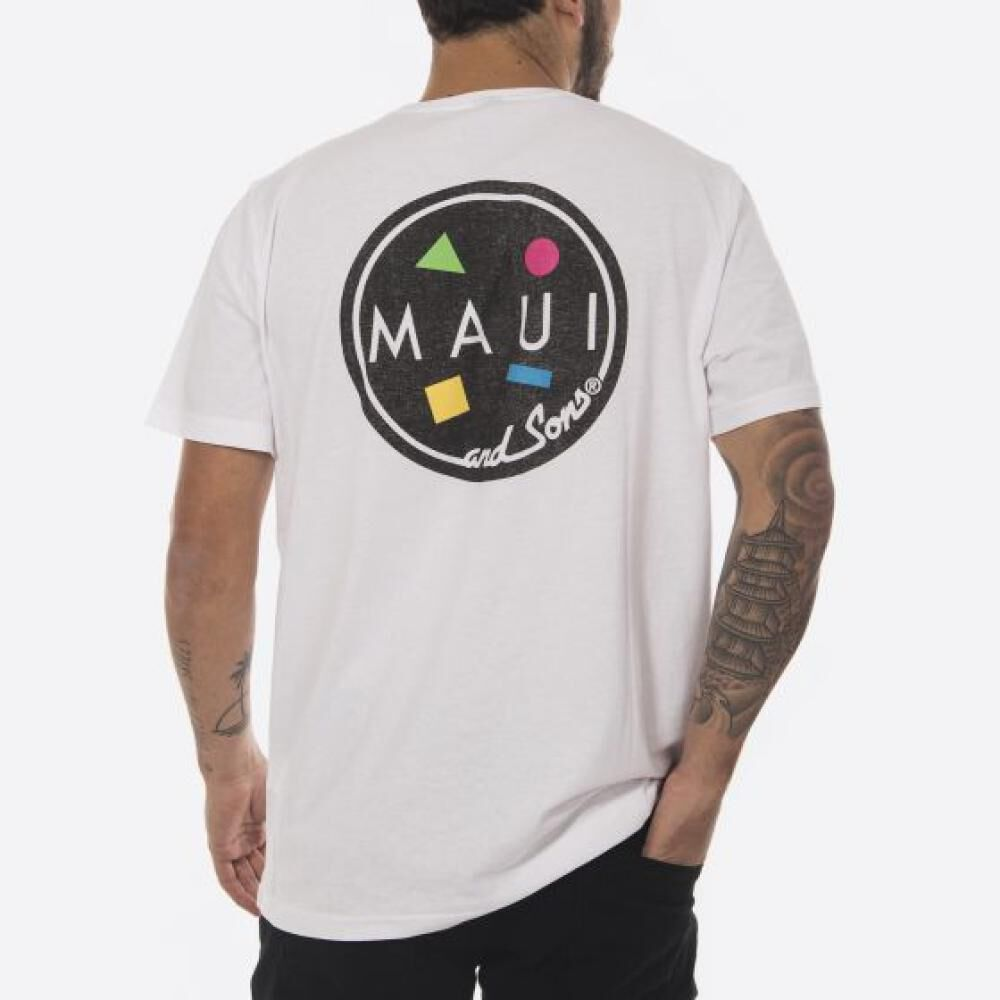 Polera Hombre Maui Blanco image number 1.0