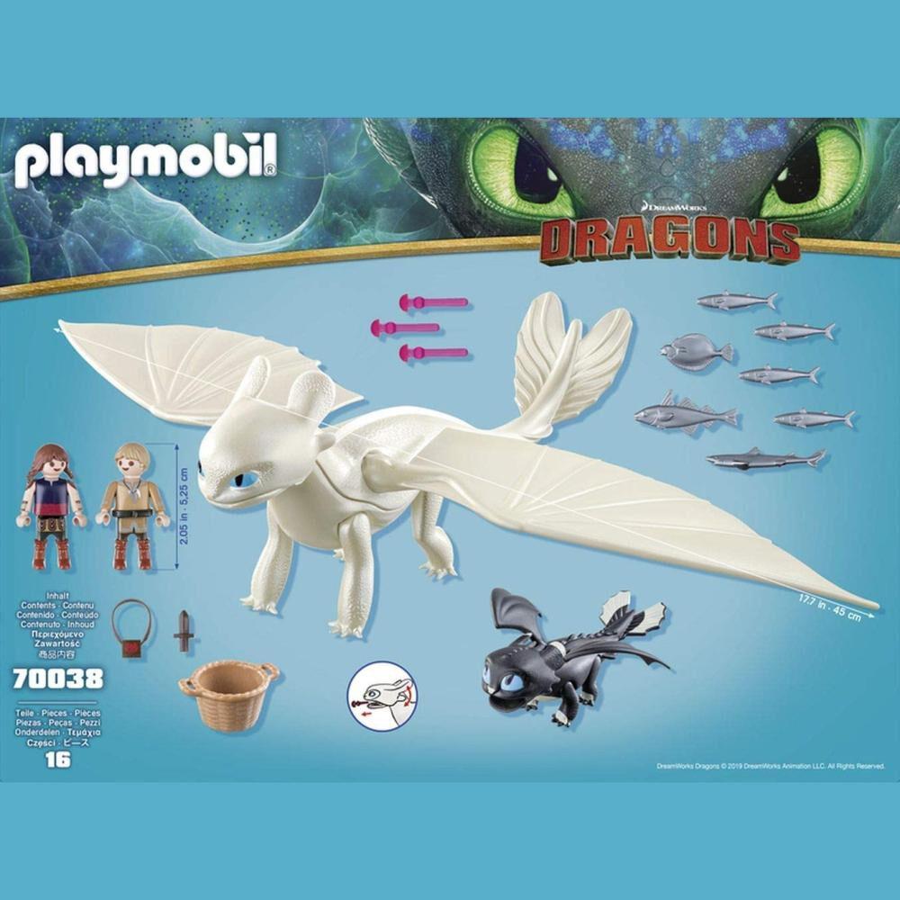 Figura De Acción Playmobil Set De Juego Furia Diurna image number 2.0