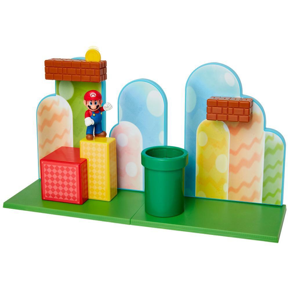 Figura Coleccionable Nintendo Playset Acorn Plains image number 4.0