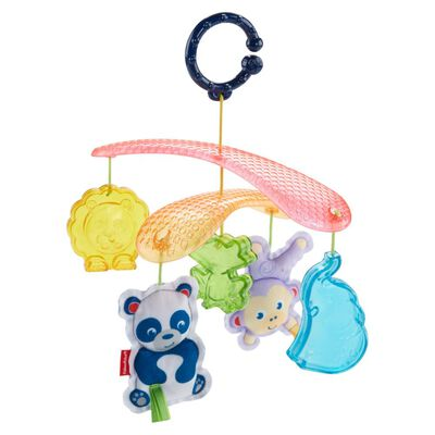 Movil Portatil Fisher Price Amiguitos De La Selva