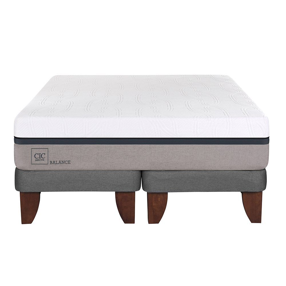 Cama Europea Cic Balance / King / Base Dividida image number 1.0