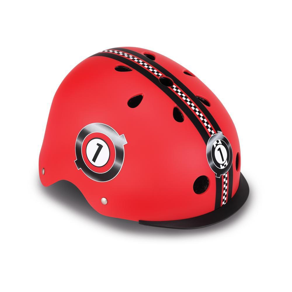Casco Globber Helmet Elite Lights Red  Xs/S image number 0.0