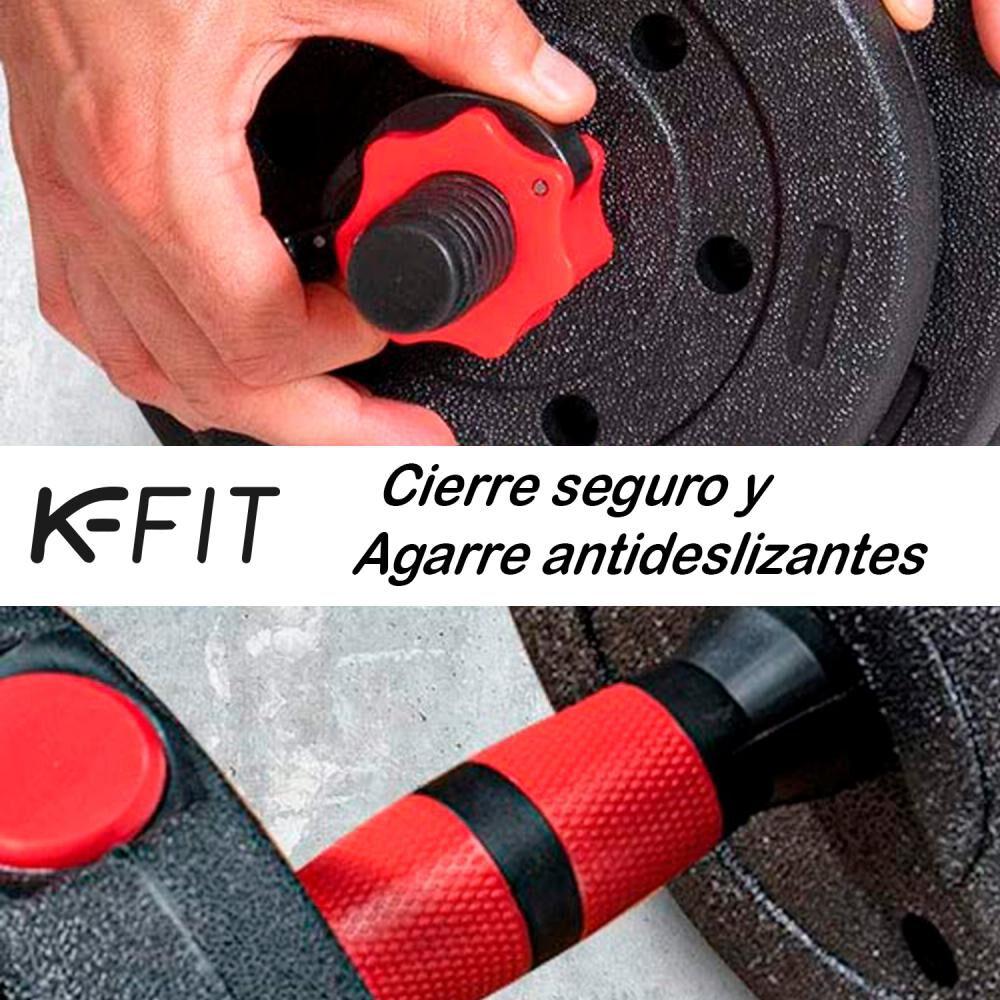 Set De Mancuernas K-fit R6002 image number 4.0