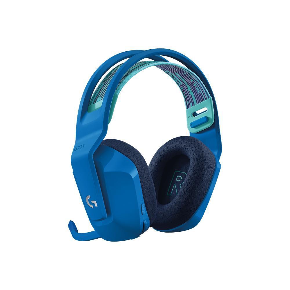 Audífonos Gamer Logitech G733 Lightspeed Rgb Blue image number 1.0
