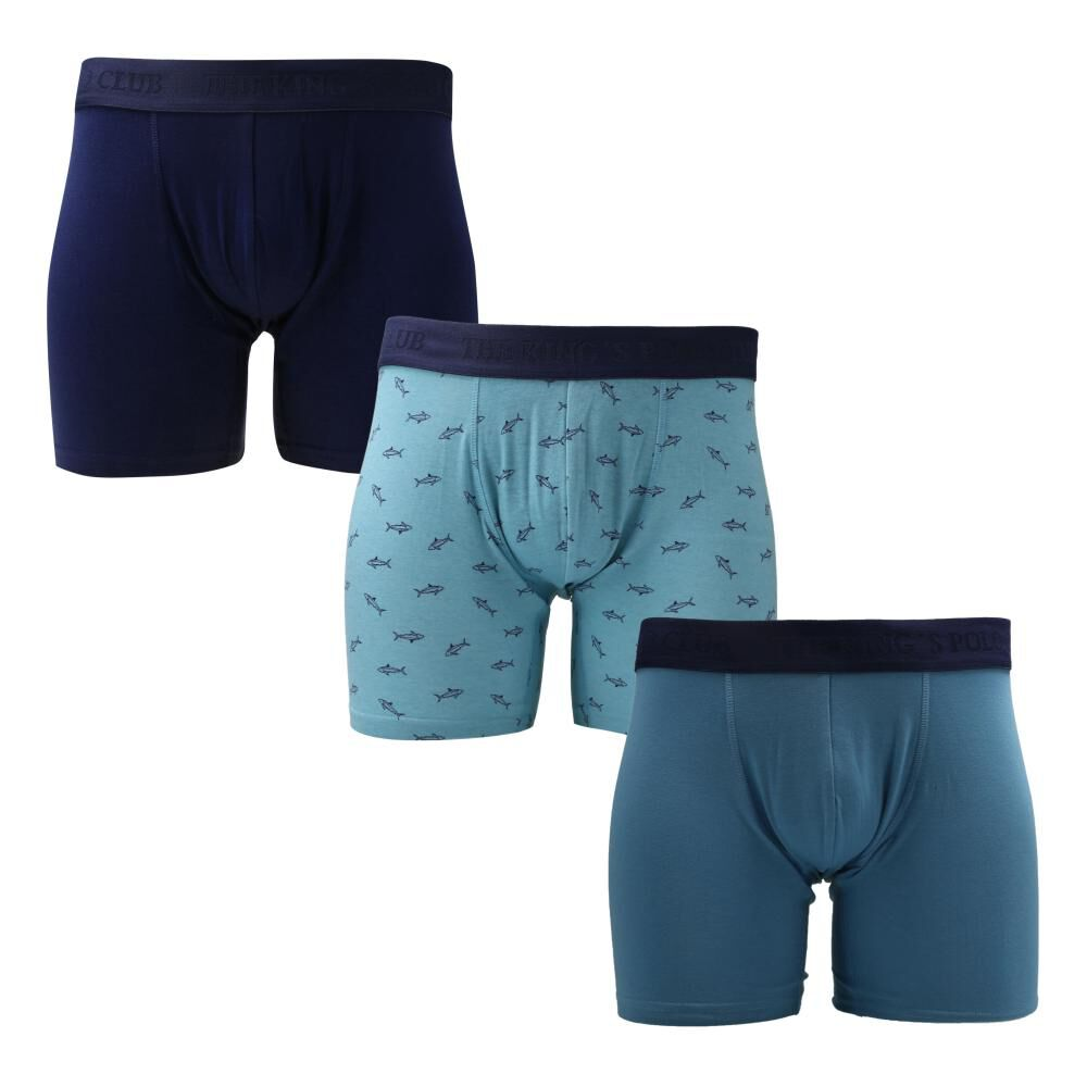 Pack Boxer Unisex The King's Polo Club / 3 Unidades image number 0.0