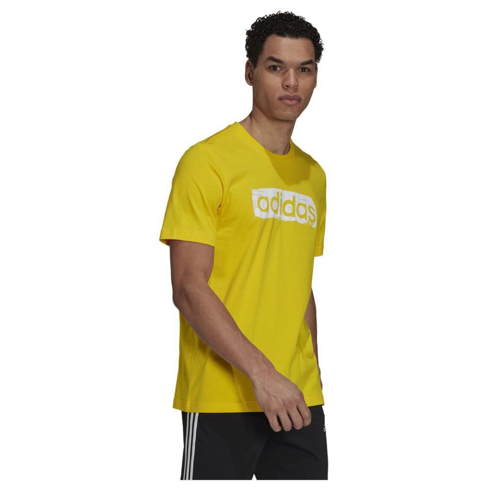 Polera Hombre Adidas Men Brushstroke V4 Tee image number 1.0