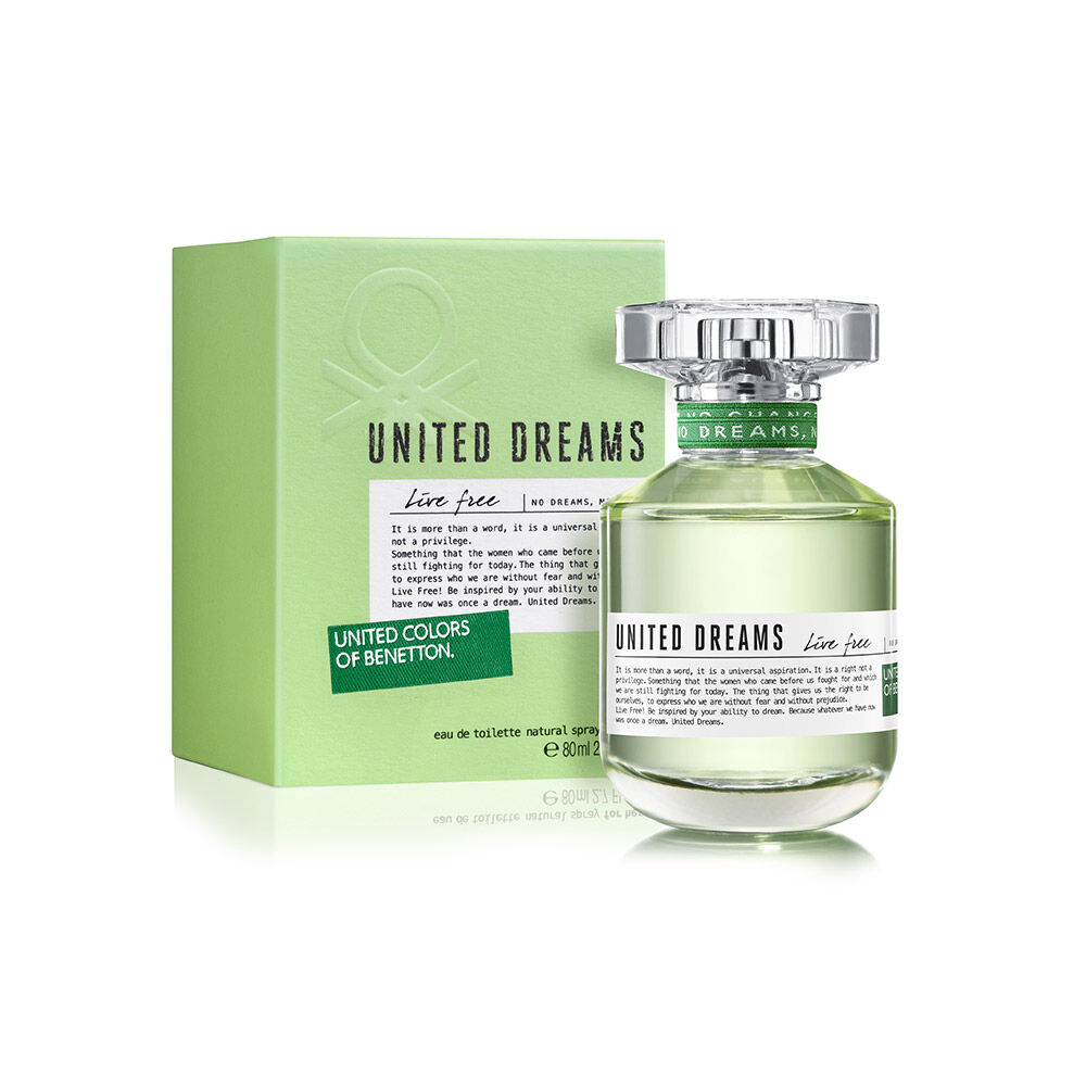 Perfume Benetton United Dreams Live Free / 80 Ml / Edt / image number 0.0