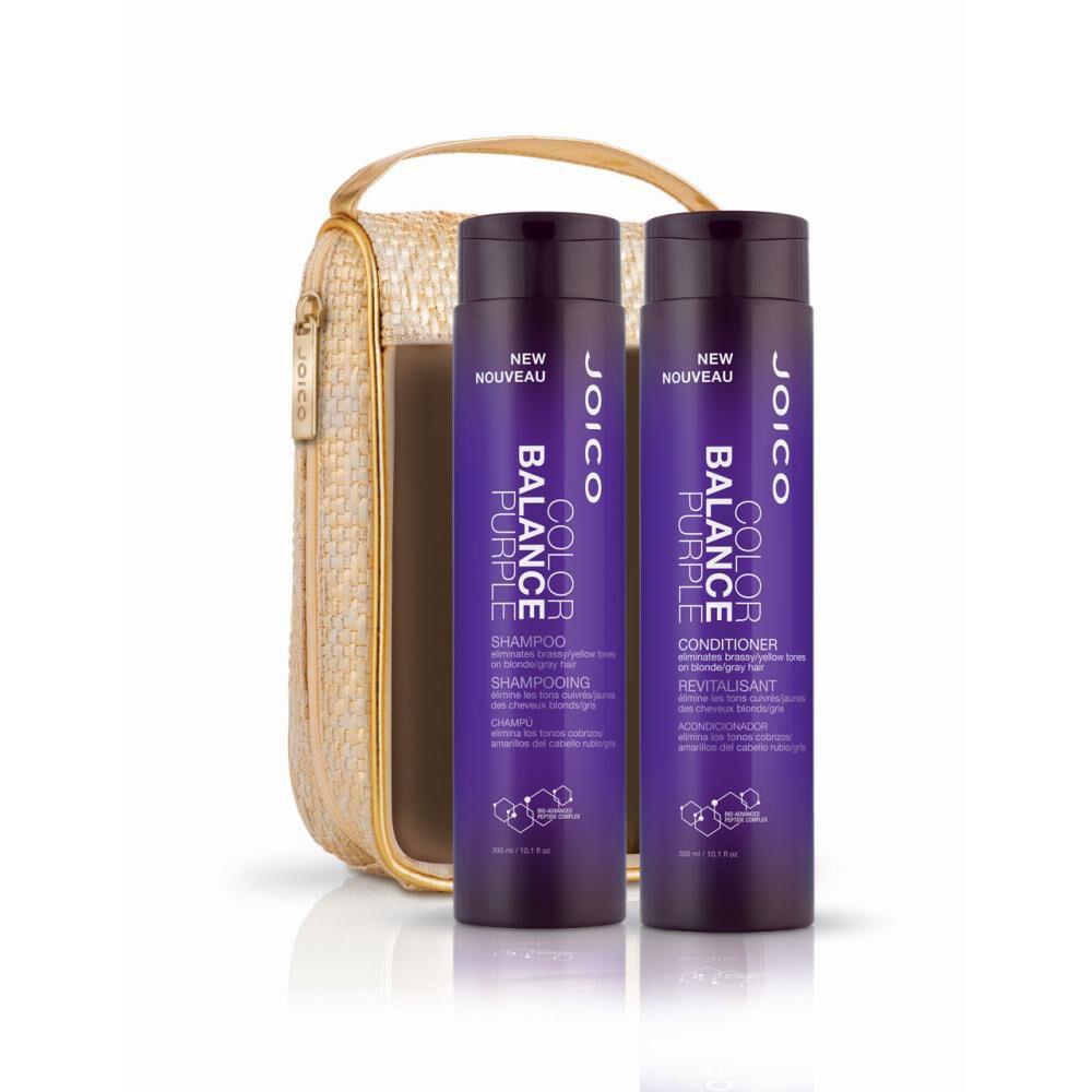 Set Joico Color Balance Purple Duo 300 Ml + 300 Ml image number 0.0