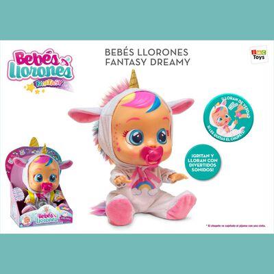 Muñeca Cry Babies Bebes Llorones Dreamy