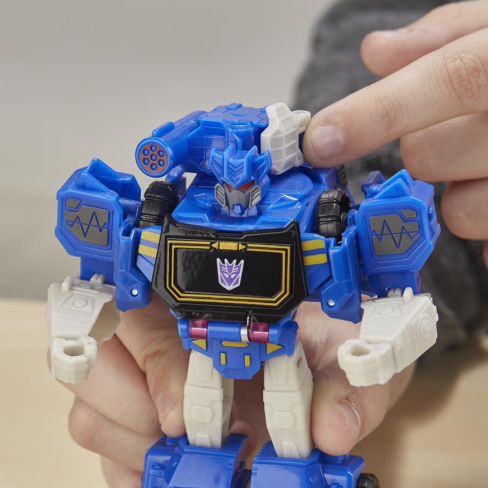 Figura De Accion Transformers Cyberverse Warrior Soundwave image number 2.0