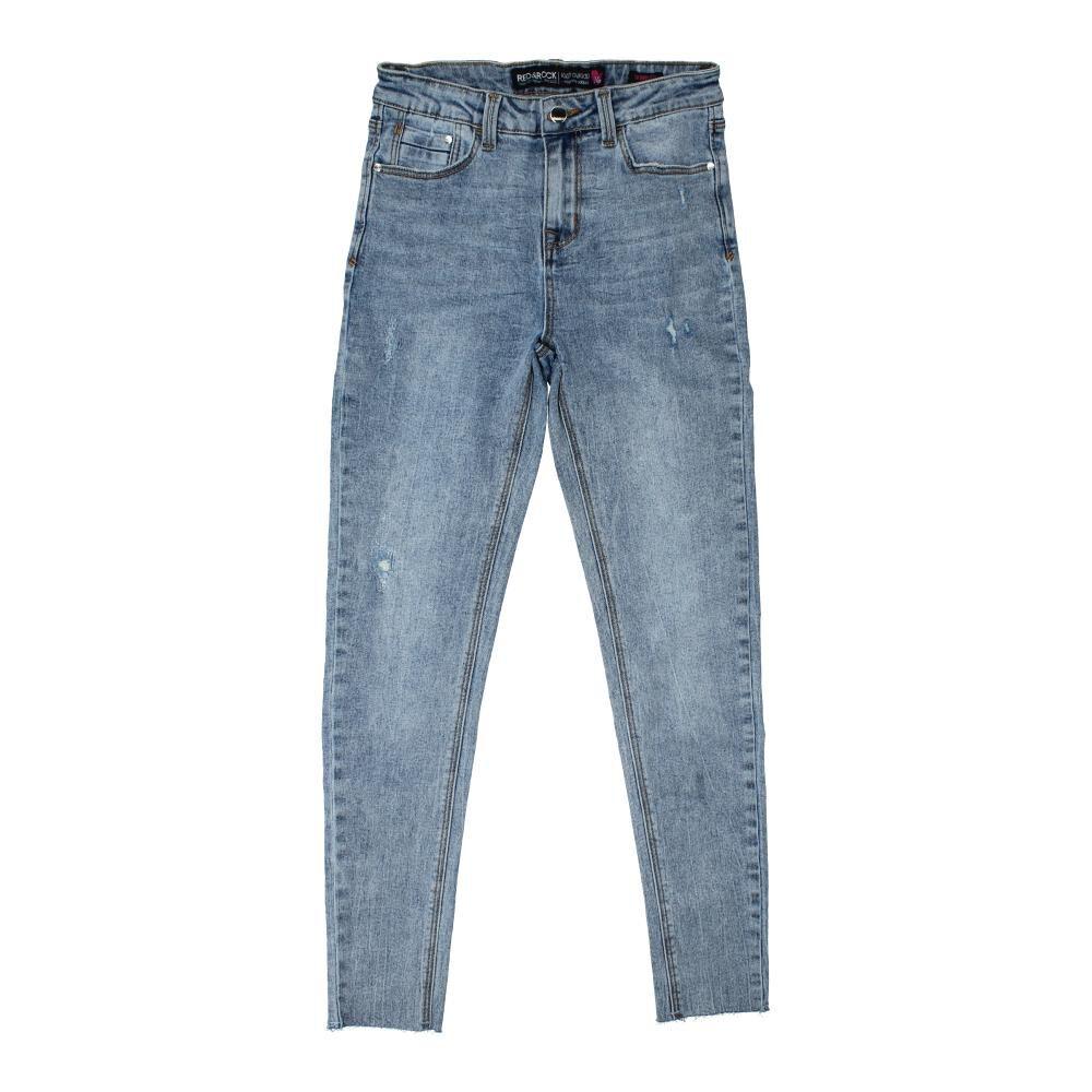 Jeans  Niña Teen Red&Rock image number 0.0