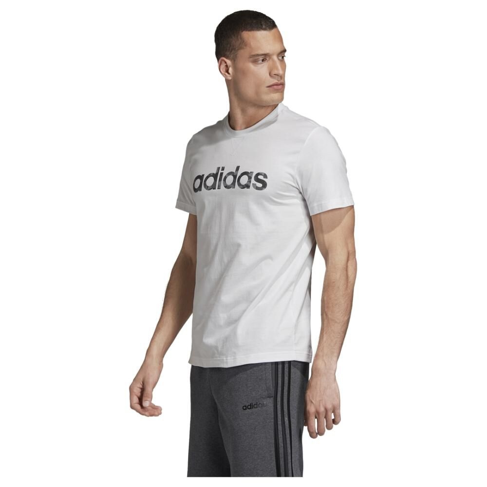 Camiseta Camo Linear Hombre Adidas image number 1.0