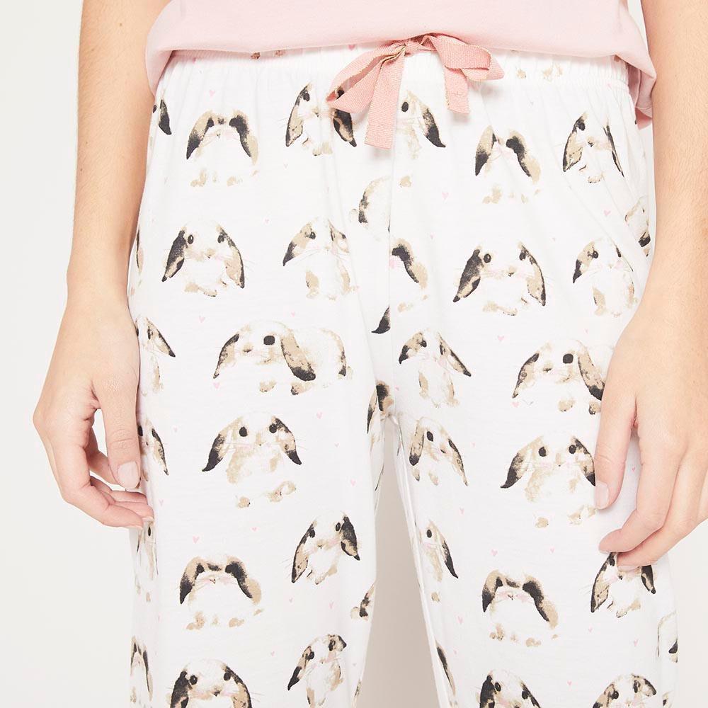 Pijama Algodón  Mujer Freedom image number 4.0