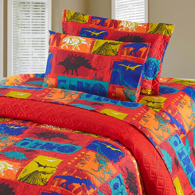 S/Quilt 1.5P Casaideal Dino