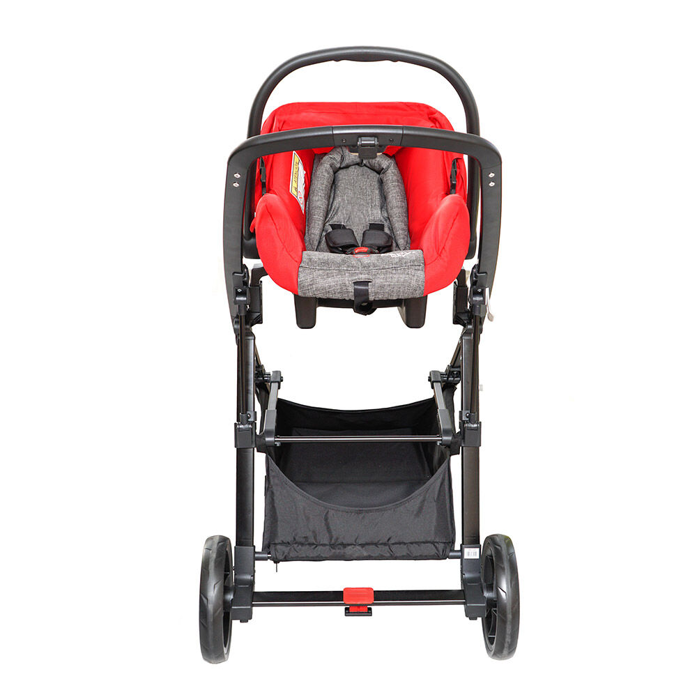 Coche Travel System Baby Way Bw-412R18 image number 2.0