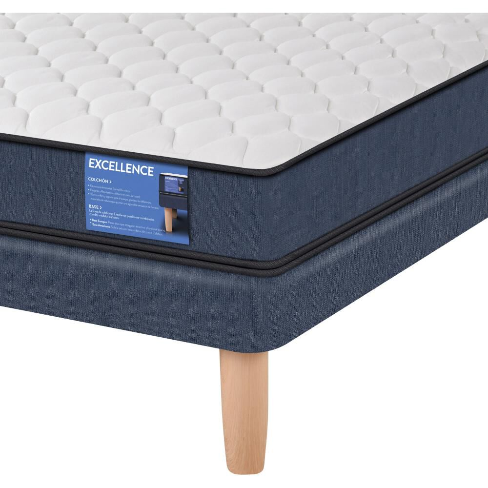 Cama Europea Cic Excellence / 1 Plaza / Base Normal  + Almohada image number 2.0