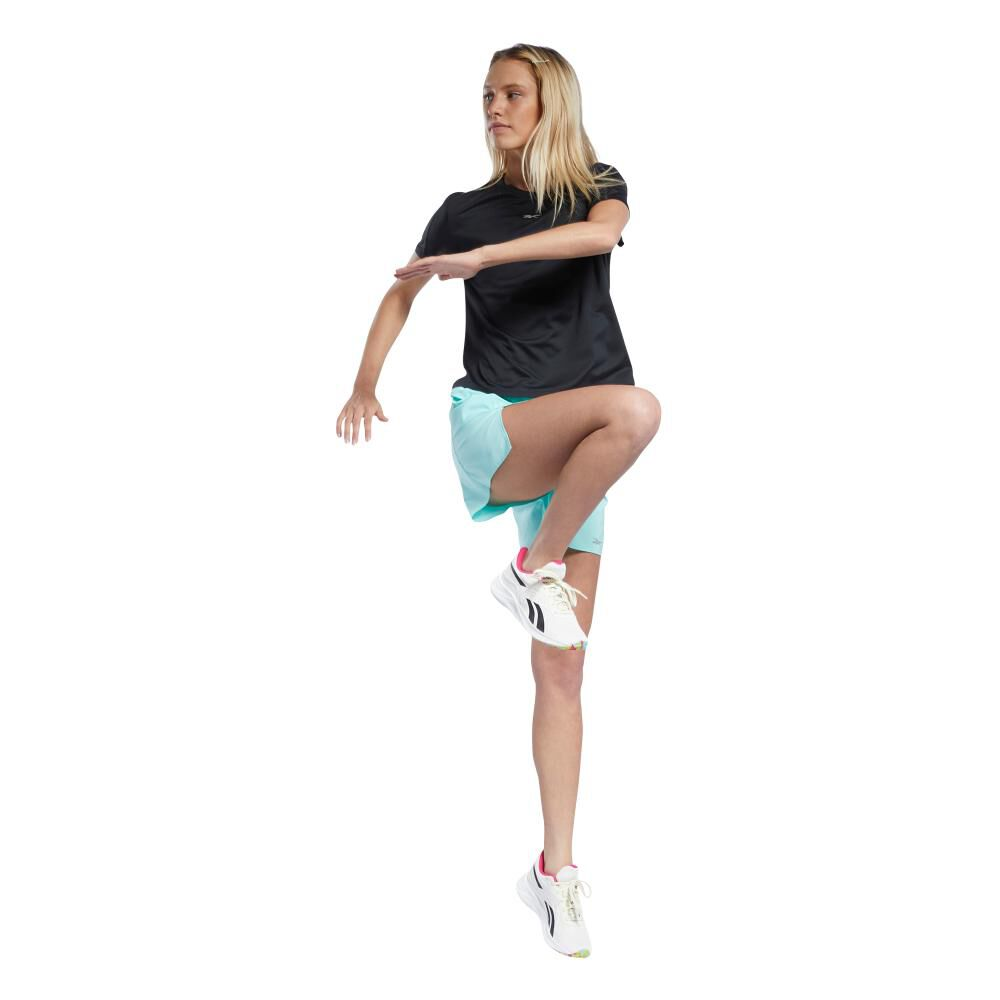 Polera Mujer Reebok Workout Ready Run Speedwick Tee image number 3.0
