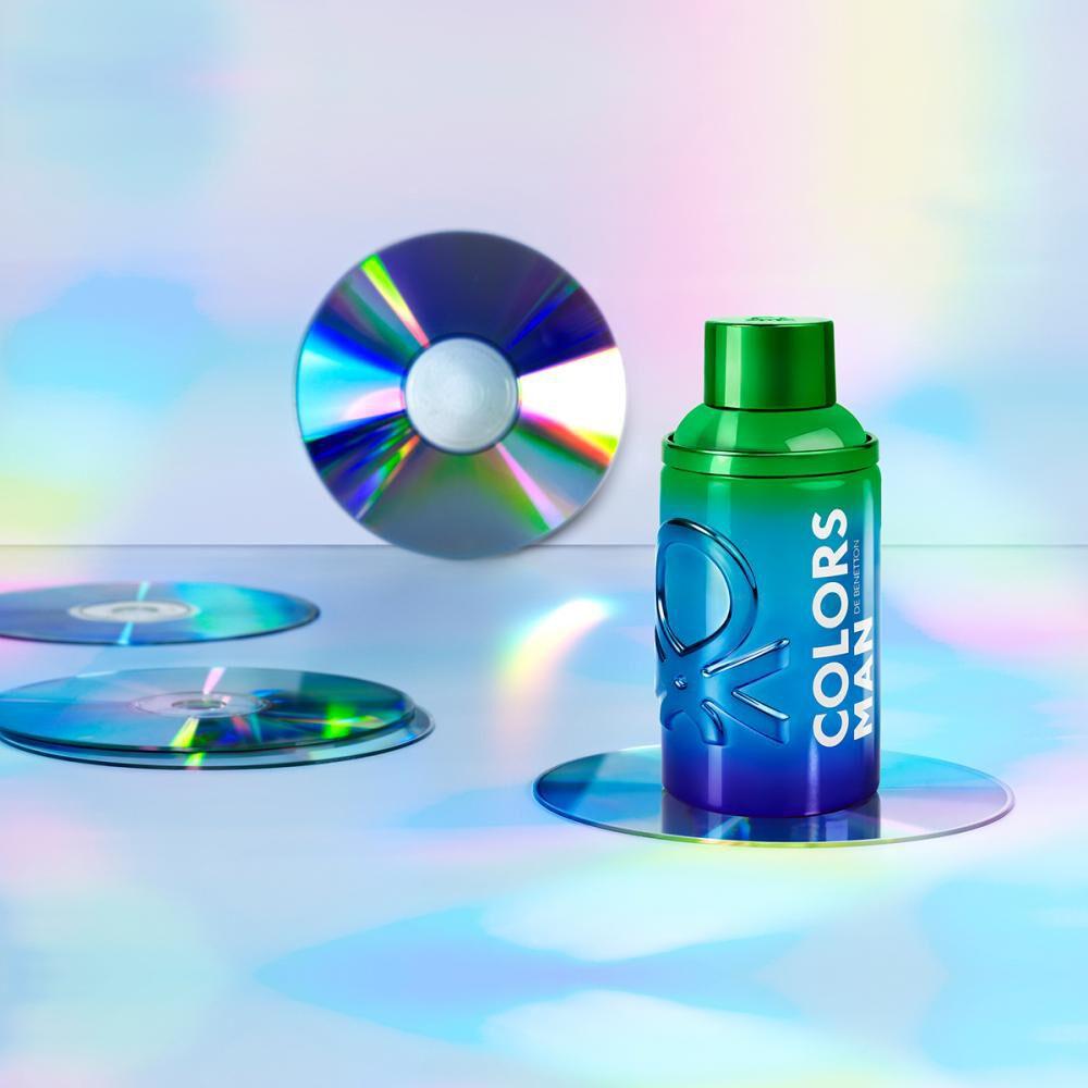 Perfume Hombre Colors Holo Man Benetton / Eau De Toilette / 100 Ml image number 4.0
