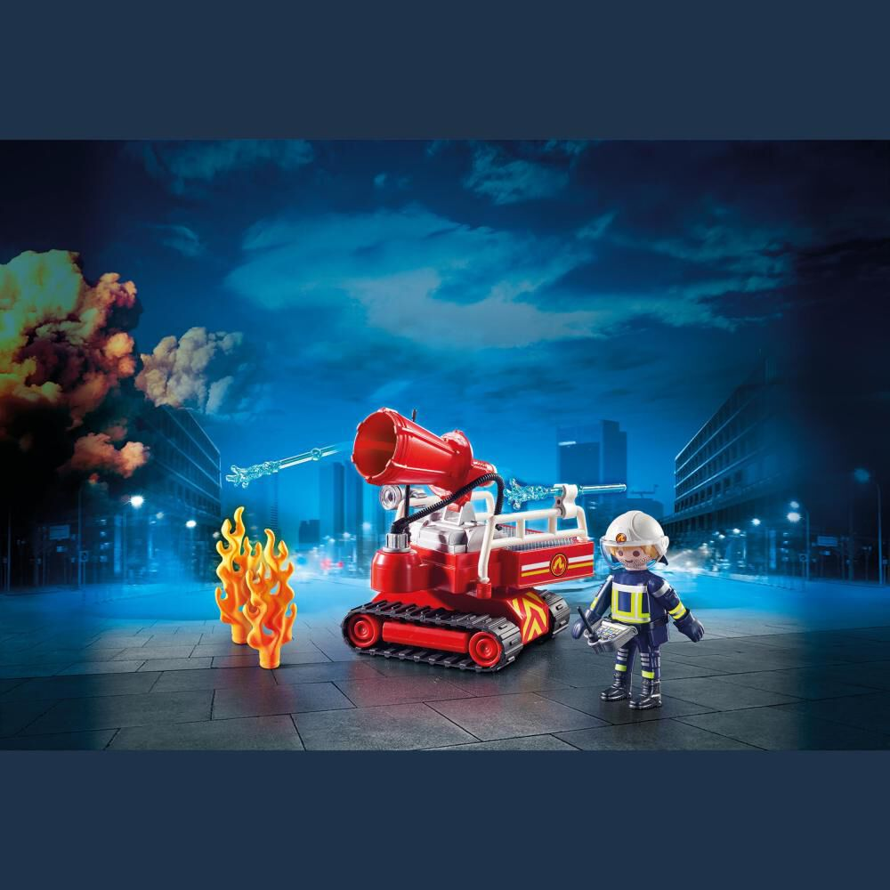 Figura De Acción Playmobil Robot De Extinción image number 2.0