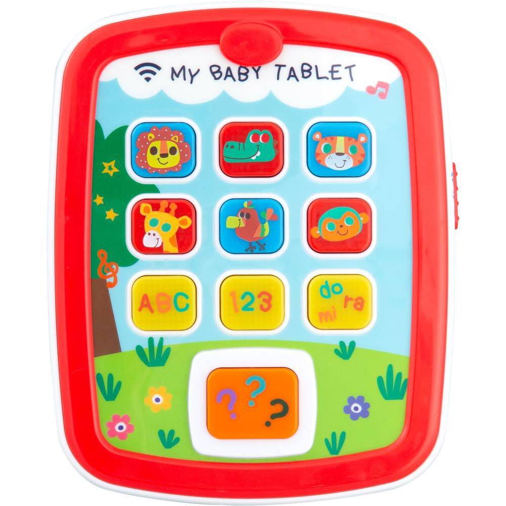 Tablet Interactiva Baby Way Bw-jp23 image number 0.0