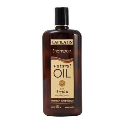 Shampoo Natural Oil 420 Ml Capilatis